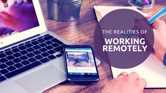 working remotely realities