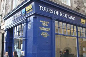 Haggis Tours Store front