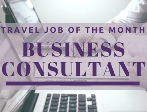 Travel Job of the Month: Business Consultant
