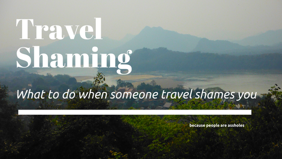 travel shaming