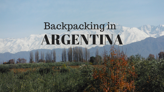 Backpacking in Argentina - Header