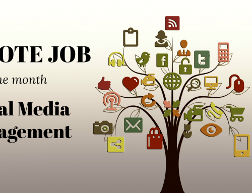 Remote Job of the Month: Social Media Marketing and Management