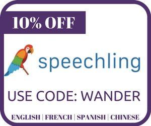 Speechling Button