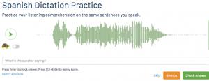 Speechling Dictation