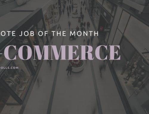 Remote Job of the Month: E-commerce Apparel