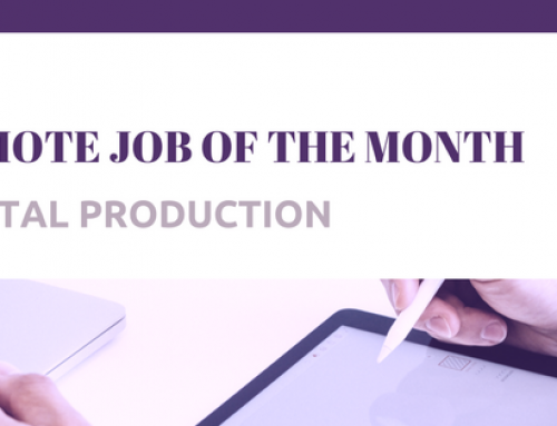 Remote Job of the Month – Digital Production Agency