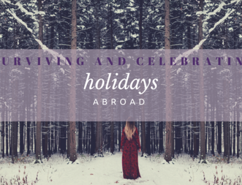 Surviving and Celebrating the Holidays Abroad