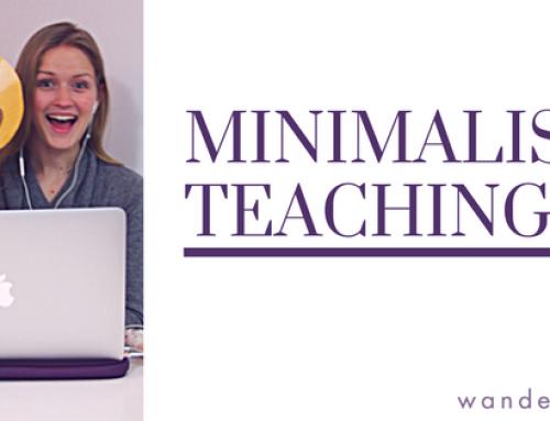 Online Minimalist Teaching