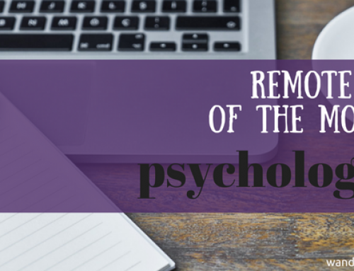 Remote Job of the Month: Psychologist